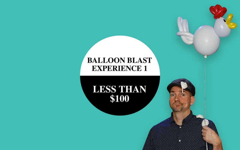 The Balloon Blast Experience 1